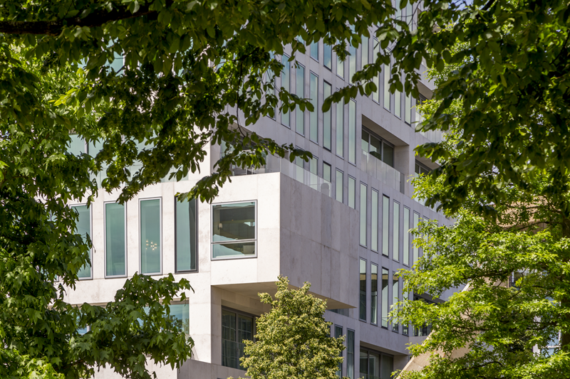 Modern Office Building Exterior - Mace Group