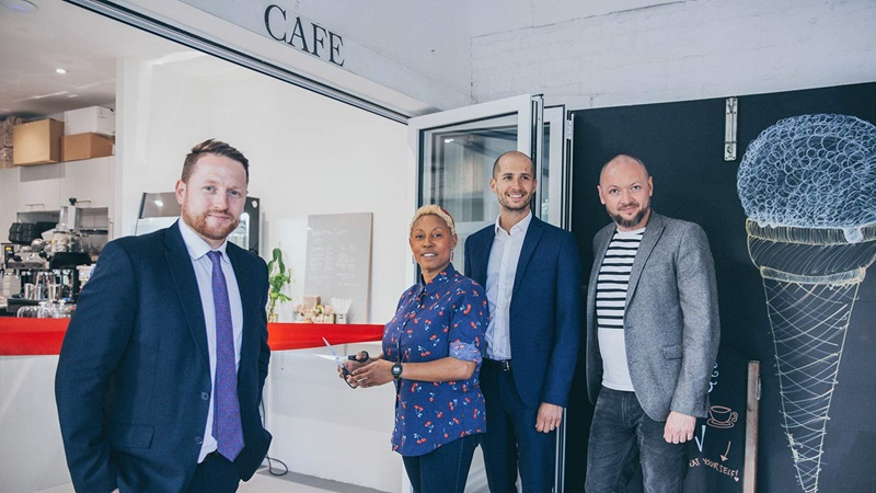 Cafe opening ceremony - Mace Group