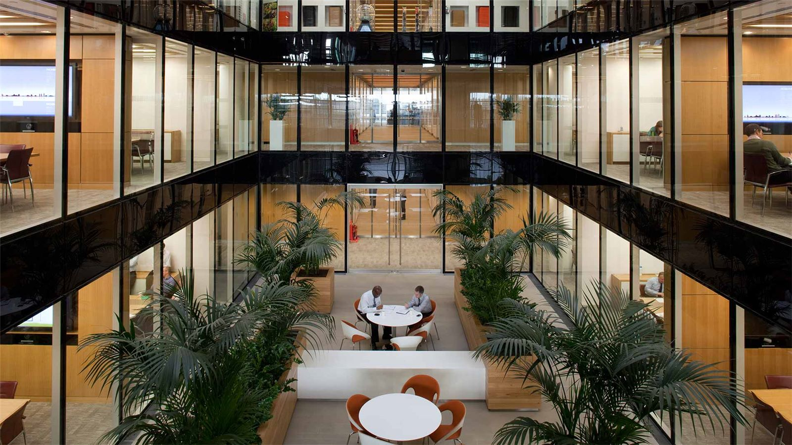 Nomura Building Sitting Relaxing Area - Mace Group