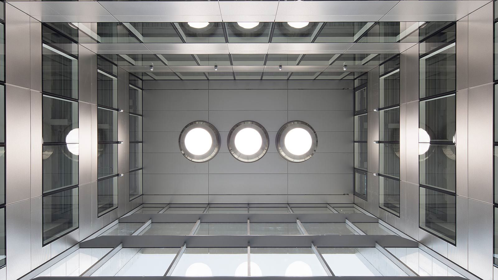 Building ceiling view - Mace Group