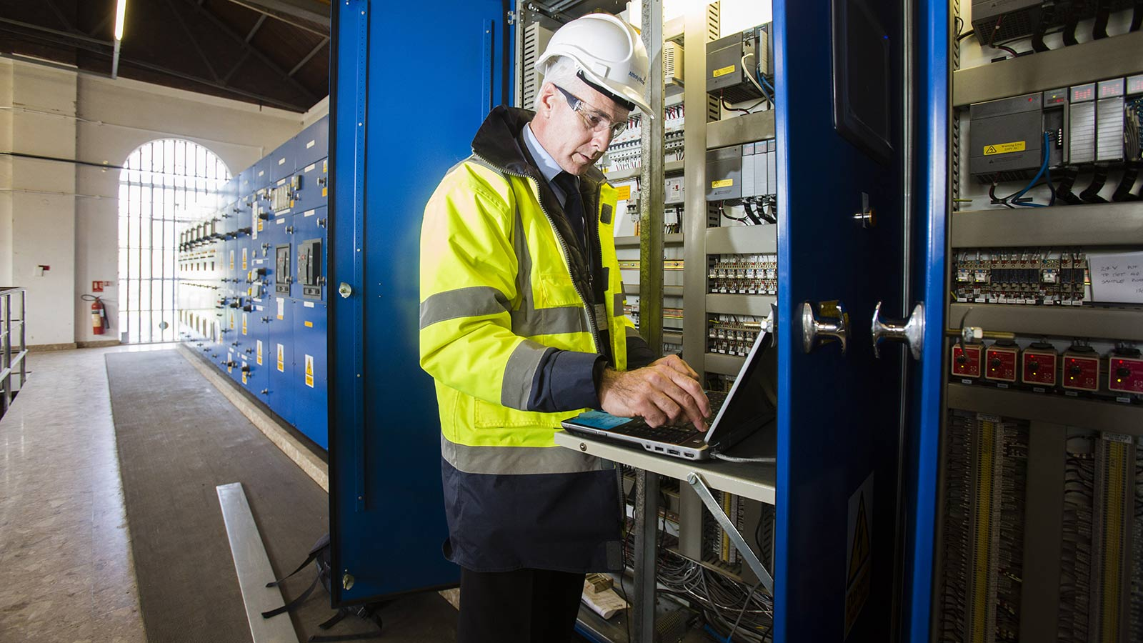 Staff monitoring affinity water - Mace Group