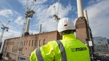 Mace construction staff working on Battersea Power Station