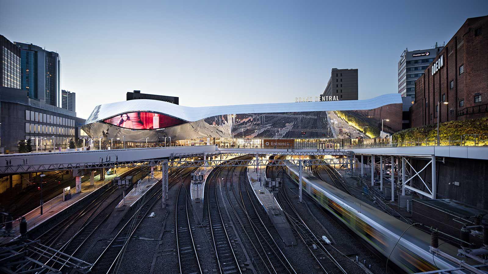 Birmingham New Street Station Railway Aerial View - Mace Group