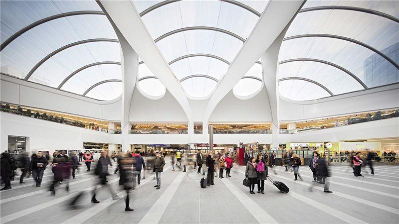 Birmingham New Street Station Interior - Mace Group