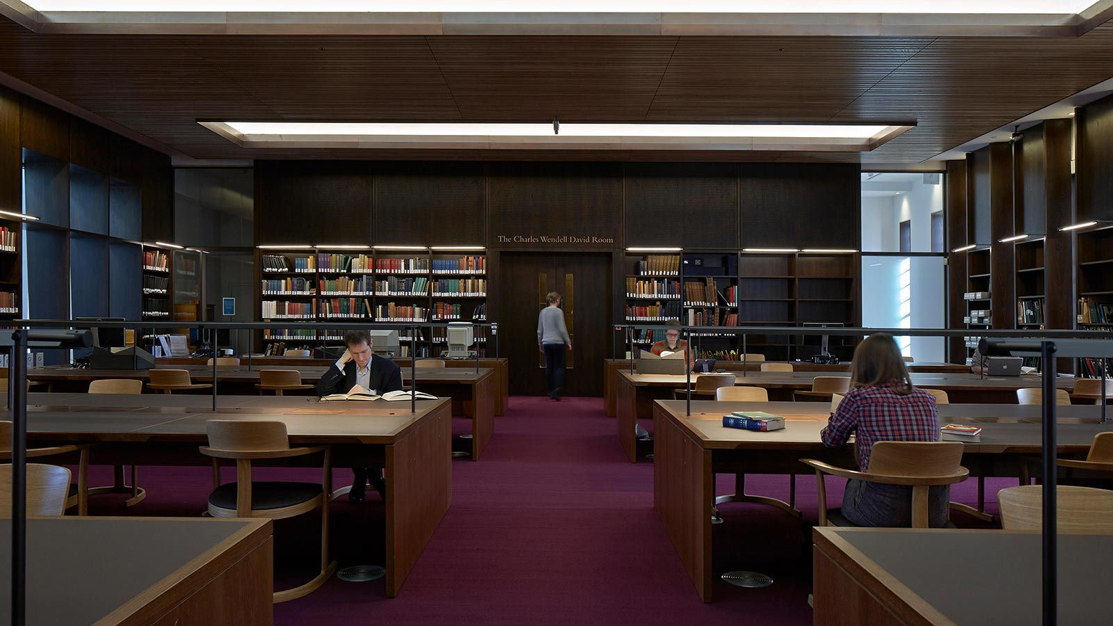 Bodleian Library Building Interior Study Area - Mace Group