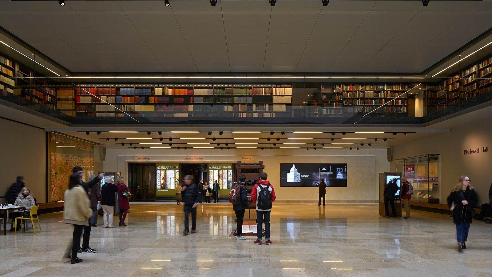 Bodleian Library Lobby Area - Mace Group