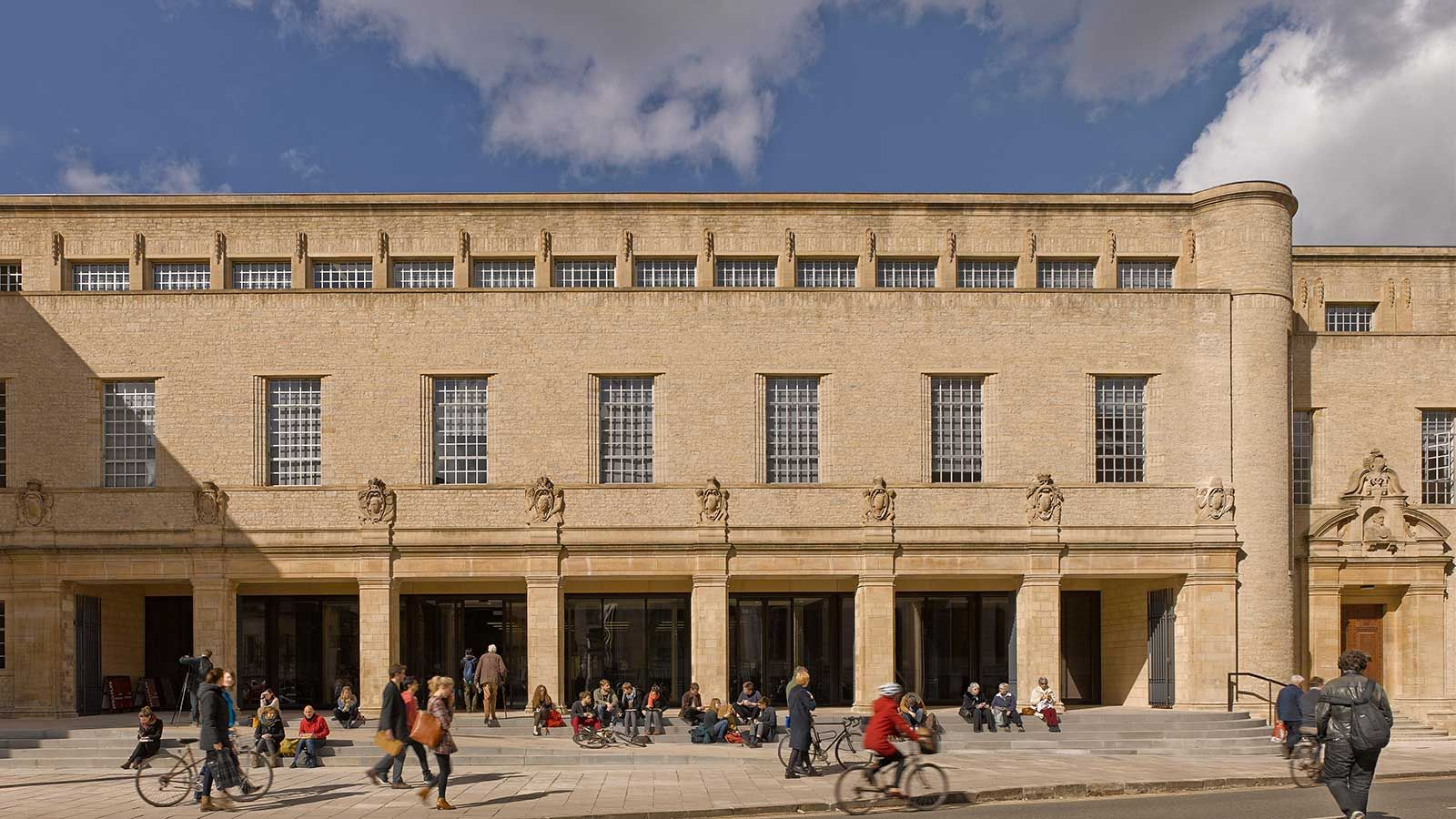 Bodleian Library Building Exterior Day View - Mace Group