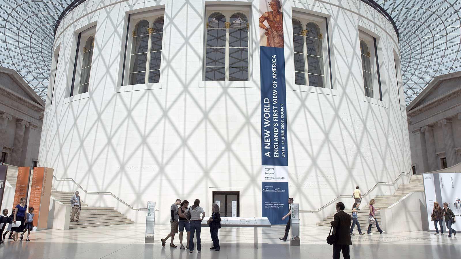 British Museum Building Interior - Mace Group