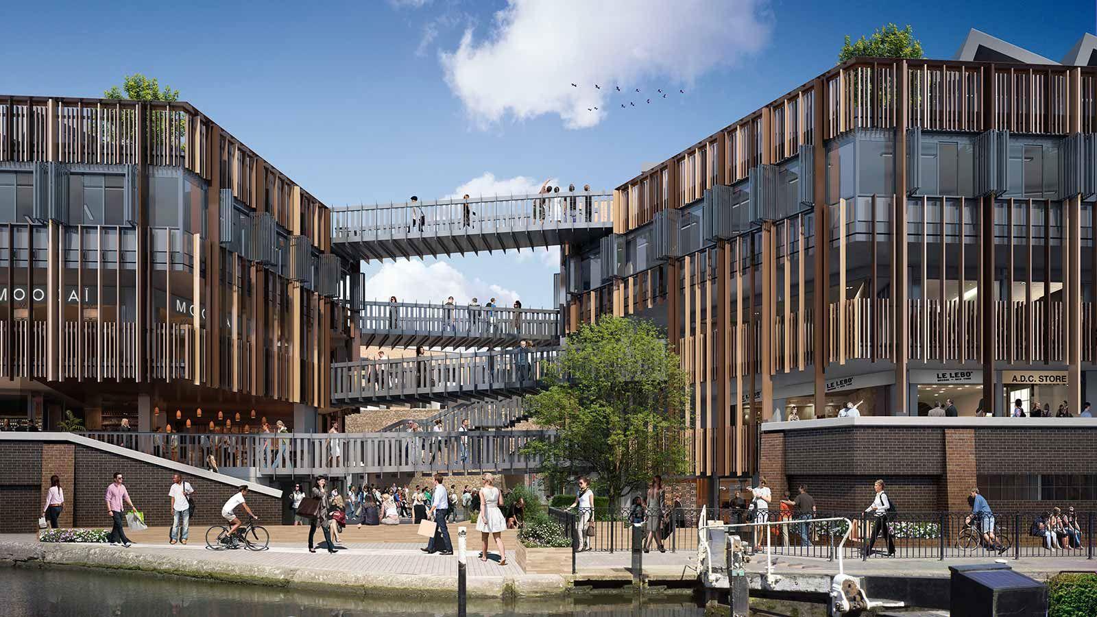London, Camden Lock Building View - Mace Group