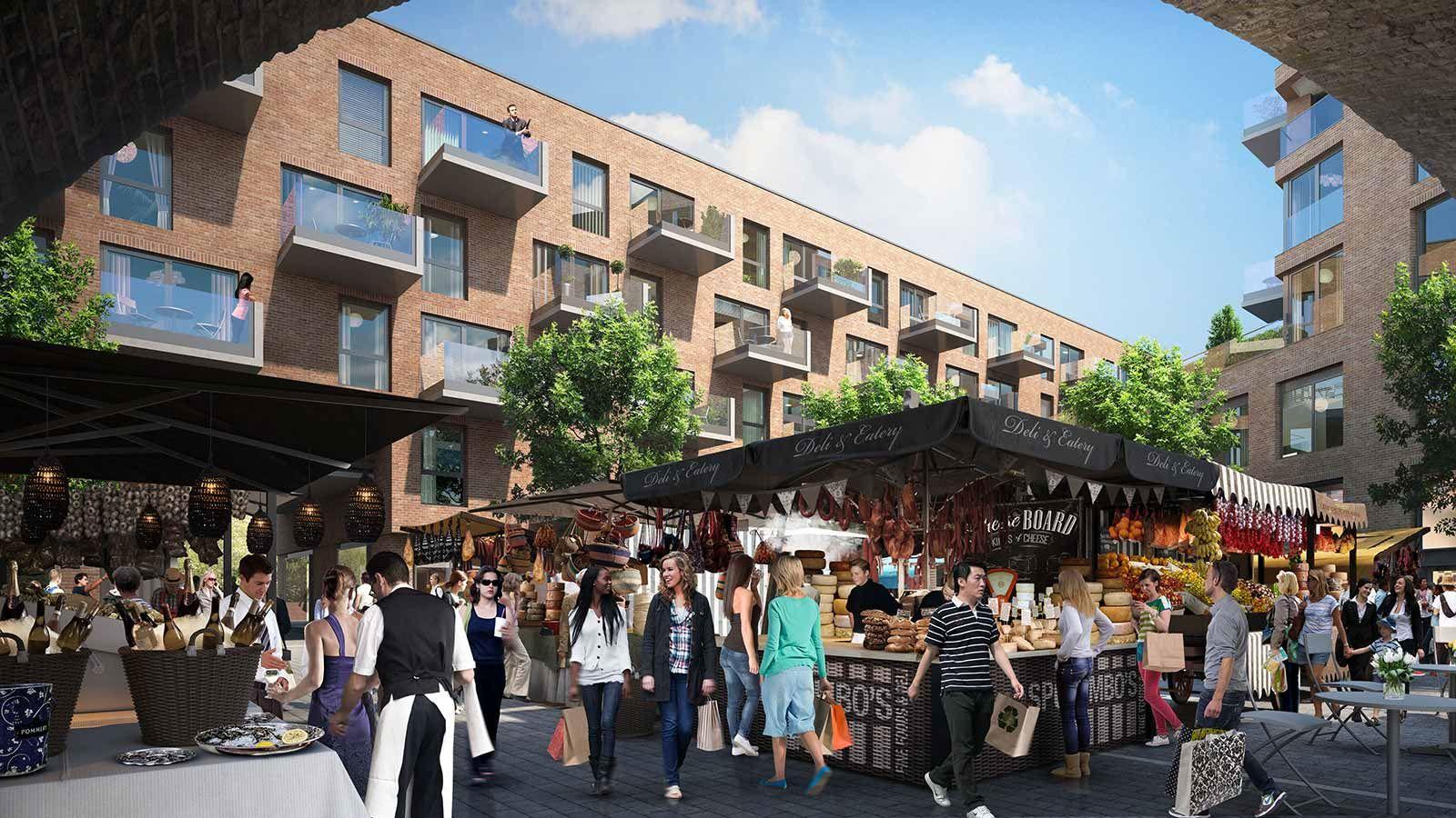 London, Camden Lock Market - Mace Group
