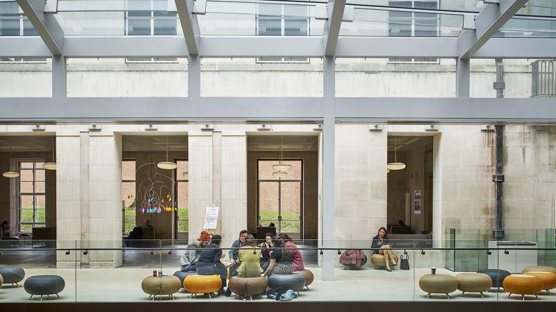 University of SOAS, Lobby Area - Mace Group