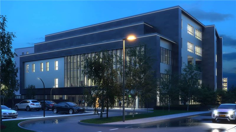 Christine Proton Beam Therapy Building - Mace Group