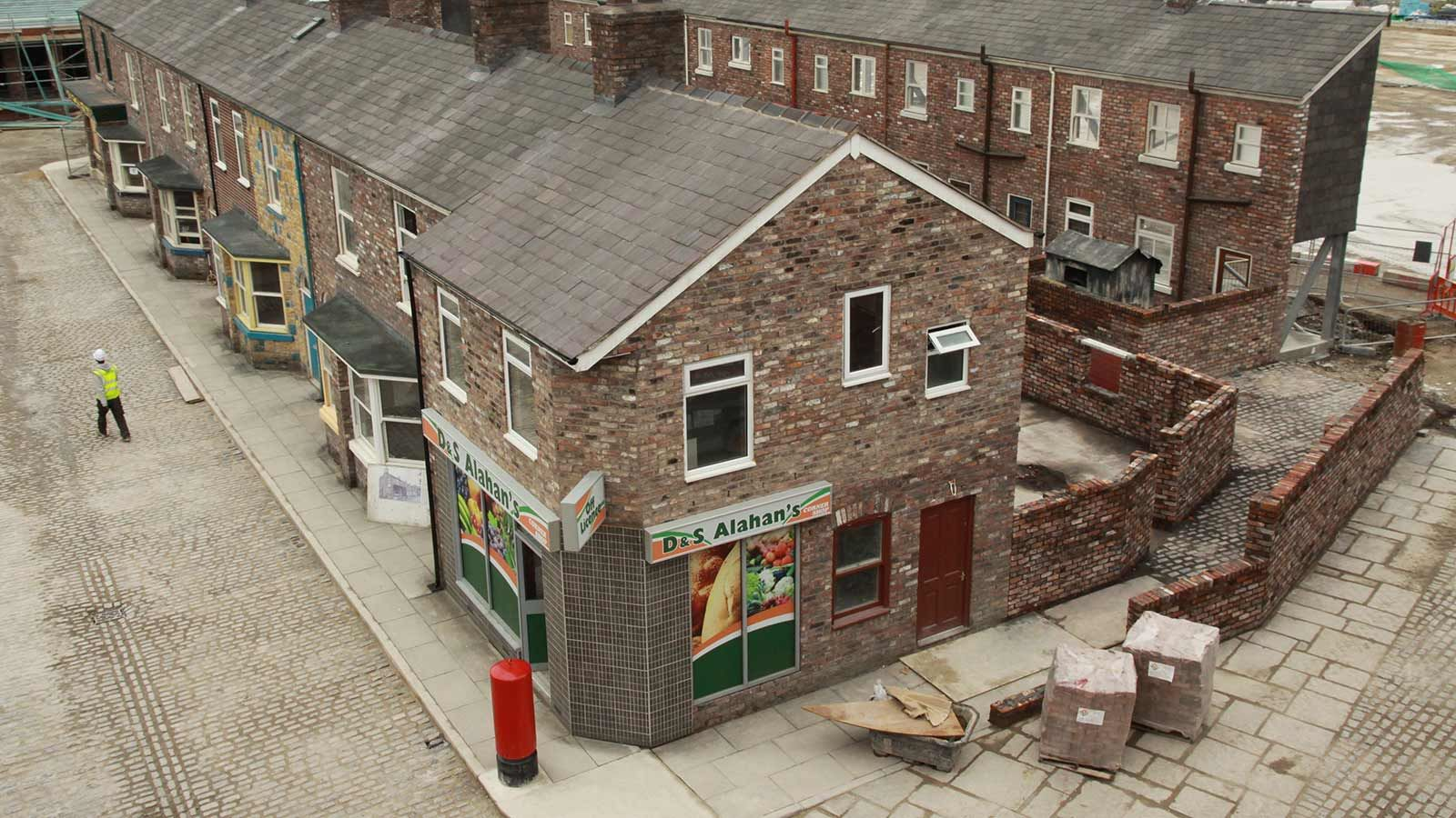 Coronation Street Building Aerial View - Mace Group