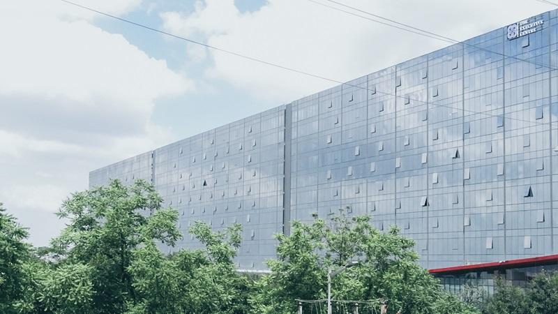 Cyber Park Building Exterior - Mace Group