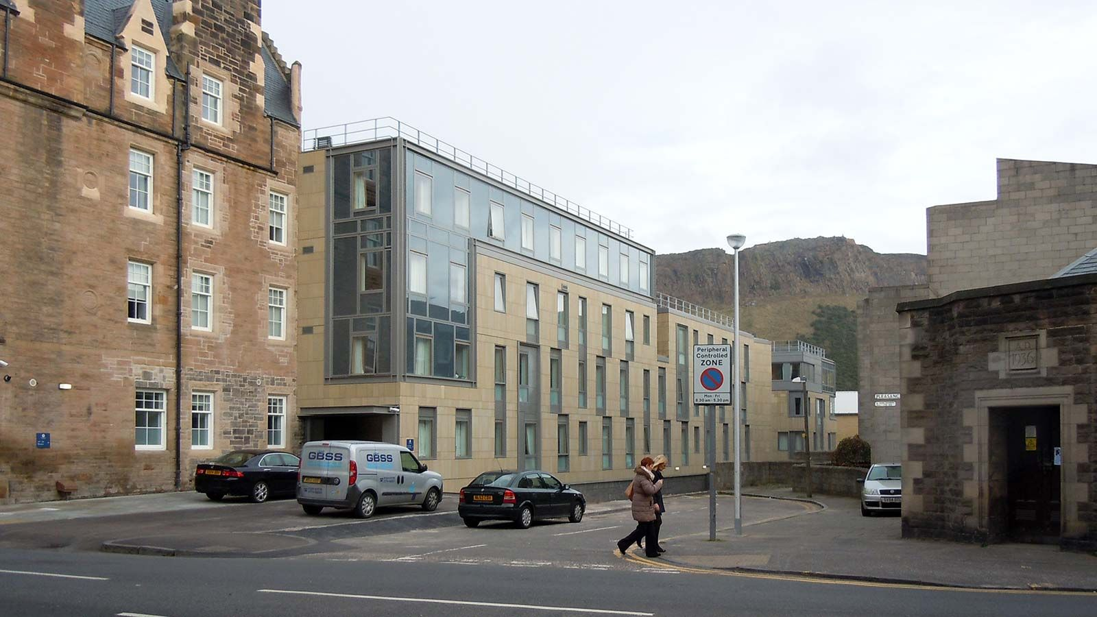 Deaconess House Building Street View - Mace Group