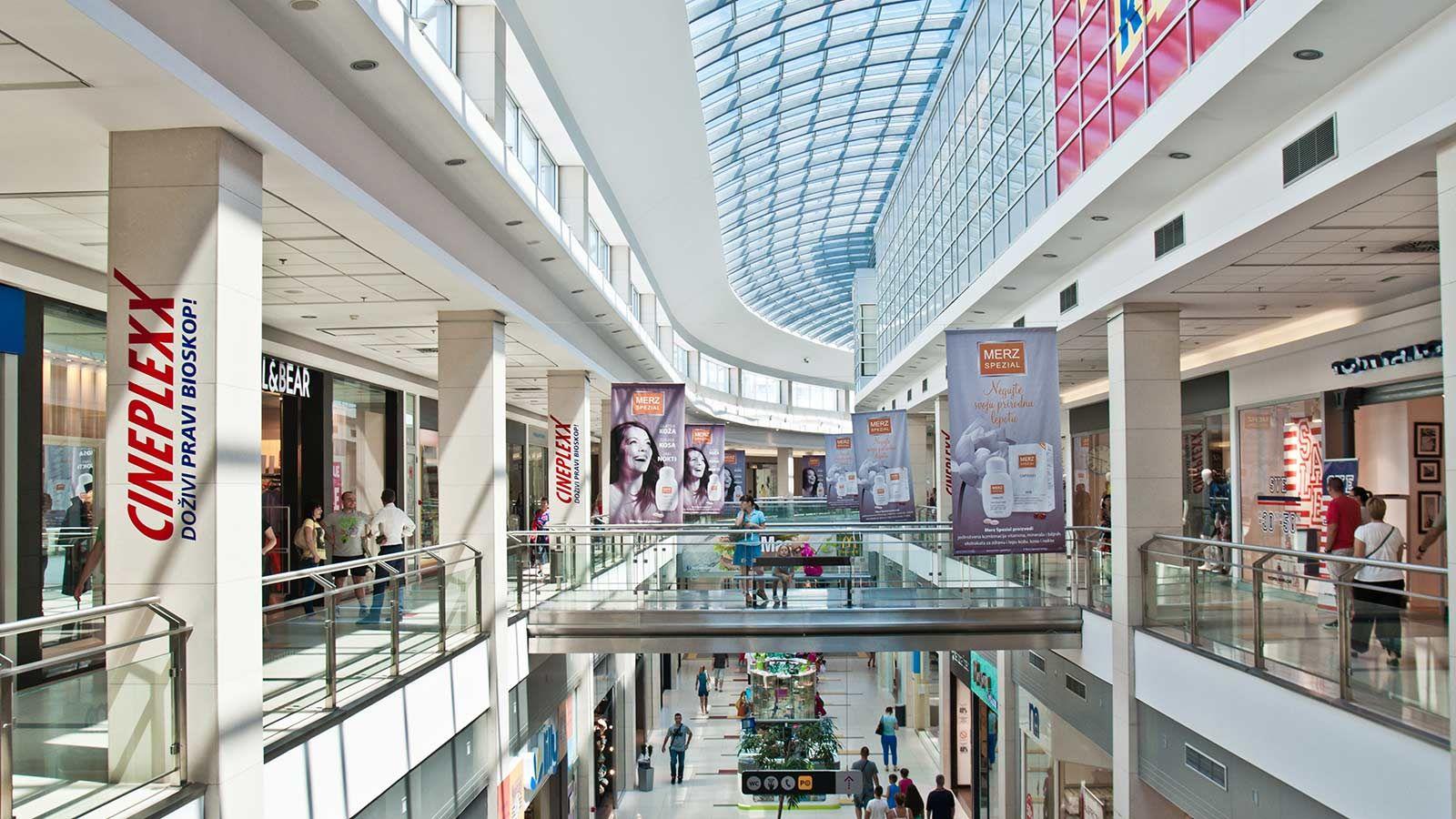 Delta City Belgrade Building Interior Shops - Mace Group