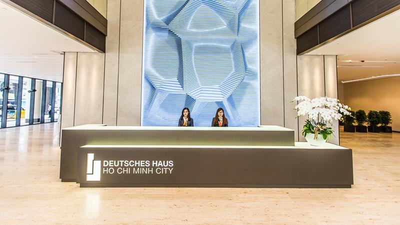 Deutsches Haus Building Reception - Mace Group