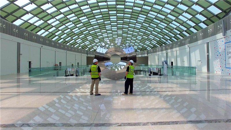 Doha Festival City Interior Atrium - Mace Group