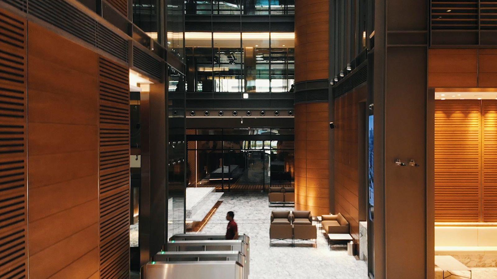 Dubai World Trade Centre Building Interior - Mace Group