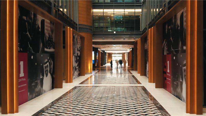 MENA Dubai World Trade Centre Building Interior - Mace Group