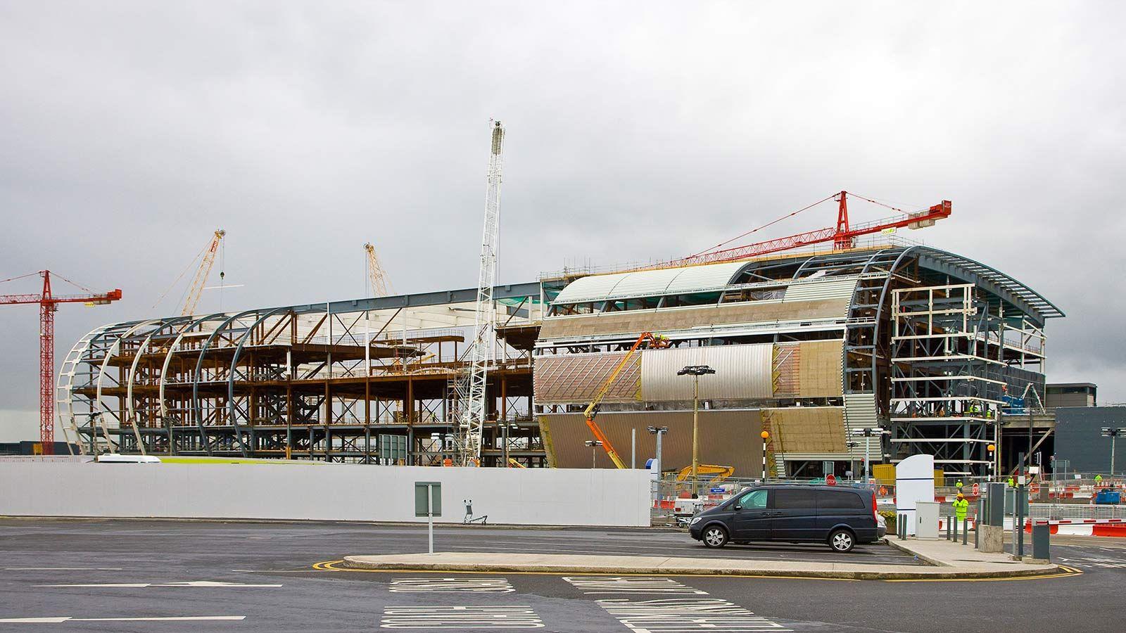 Dublin Airport Building Construction - Mace Group