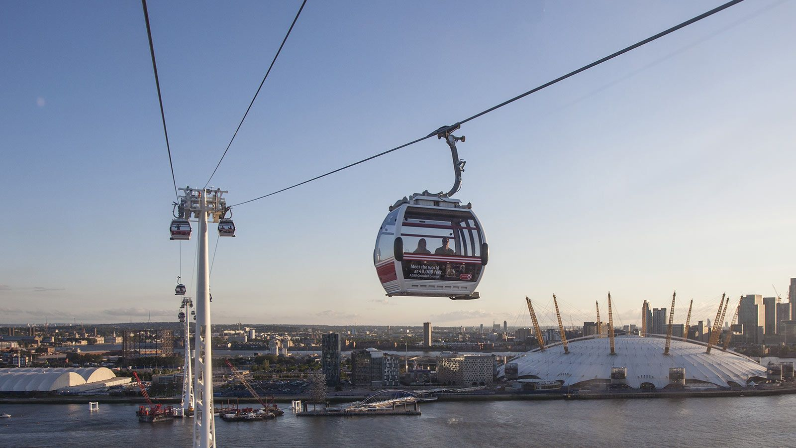 Emirates Air Line Cable Car - Mace Group