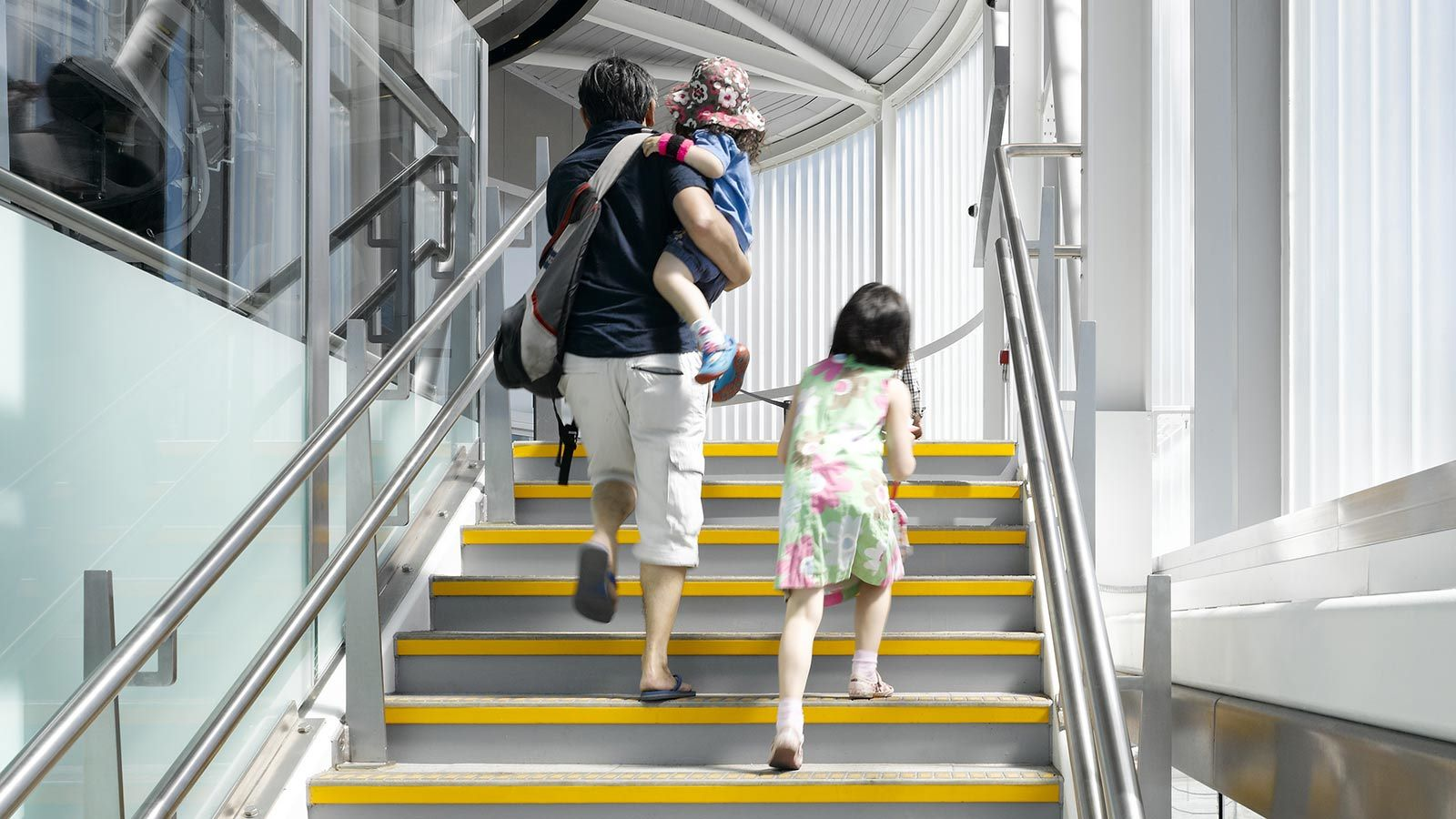 Emirates Air Line Cable Car Stairs - Mace Group