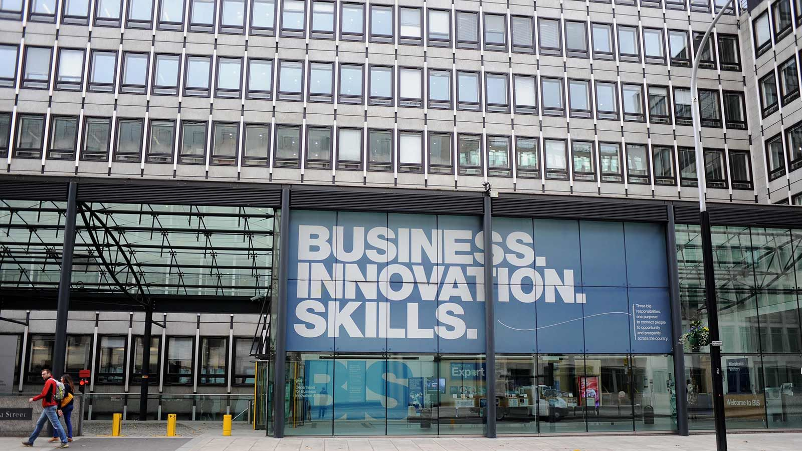 Estate Transition Programme, Business Innovation Skills Banner - Mace Group