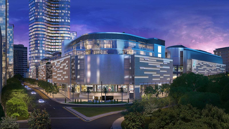 European Bank for Reconstruction and Development Building CGI - Mace Group