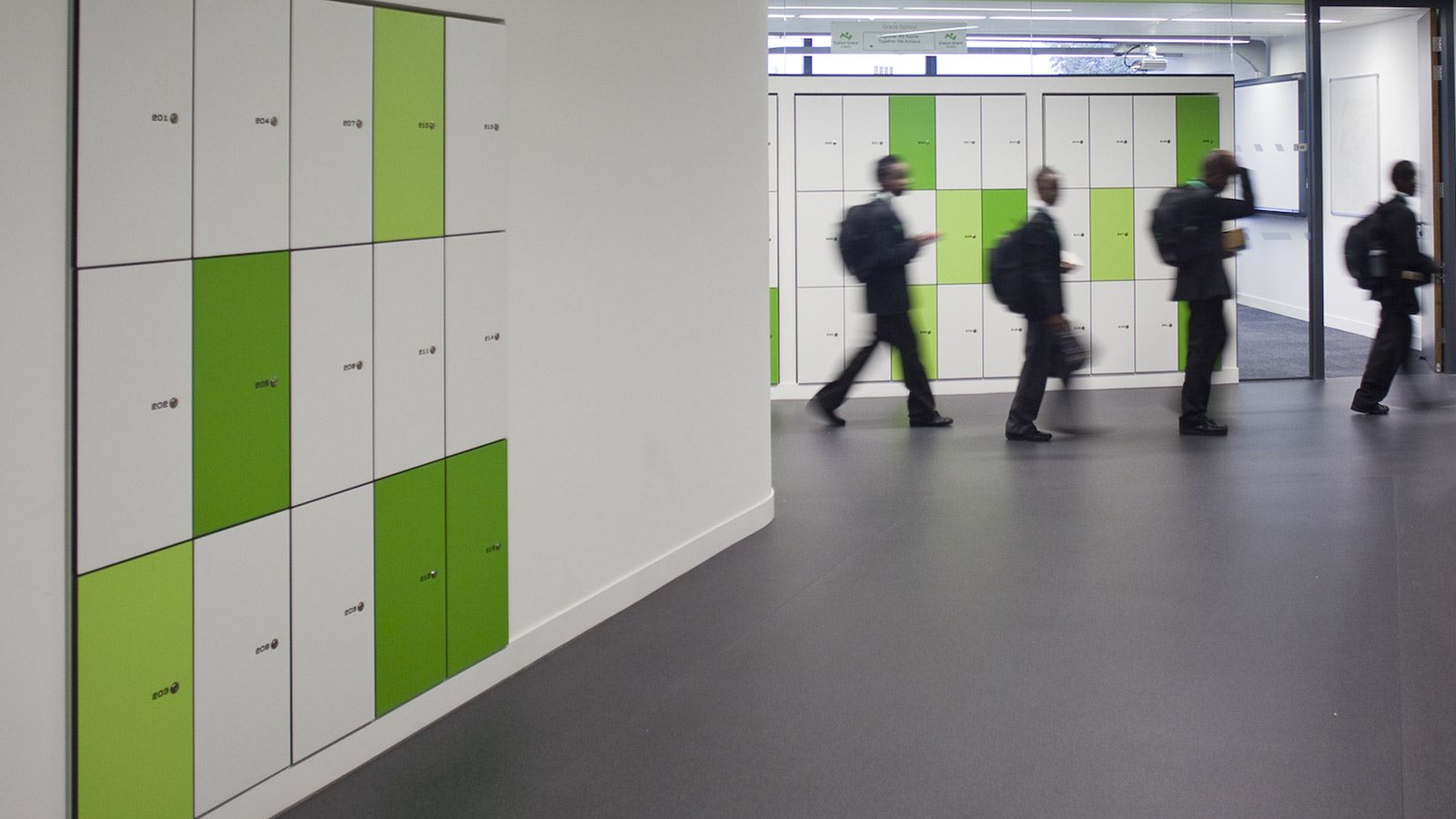 Evelyn Grace Academy Building Corridor - Mace Group