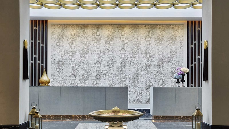 Four Seasons Hotel, Luxury Reception Area - Mace Group
