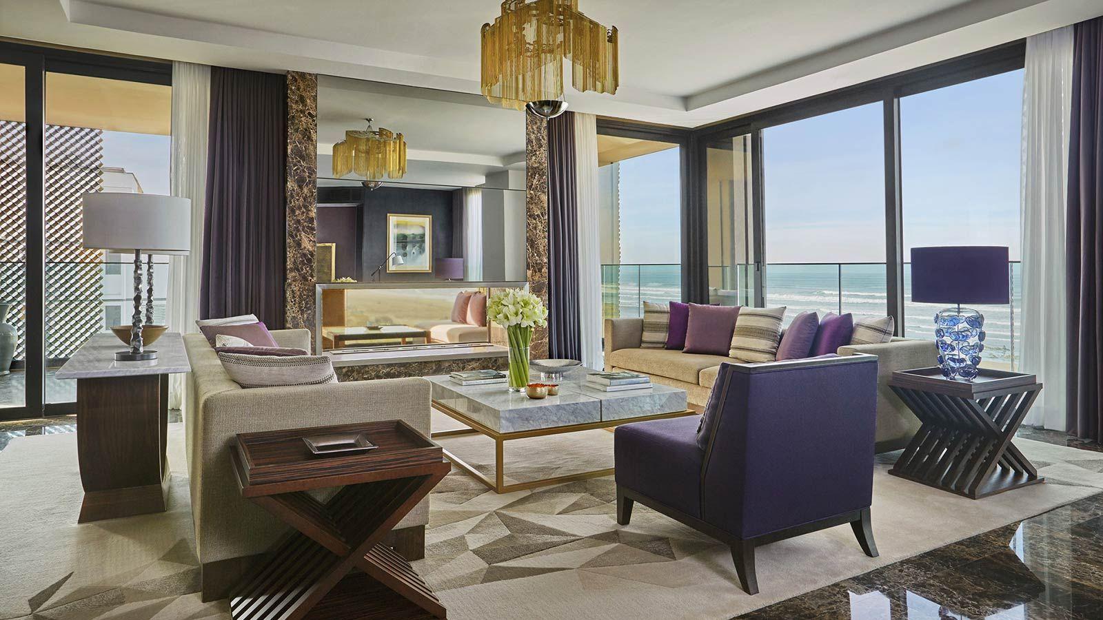 Casablanca Four Seasons Hotel, Luxury Sea View Room - Mace Group