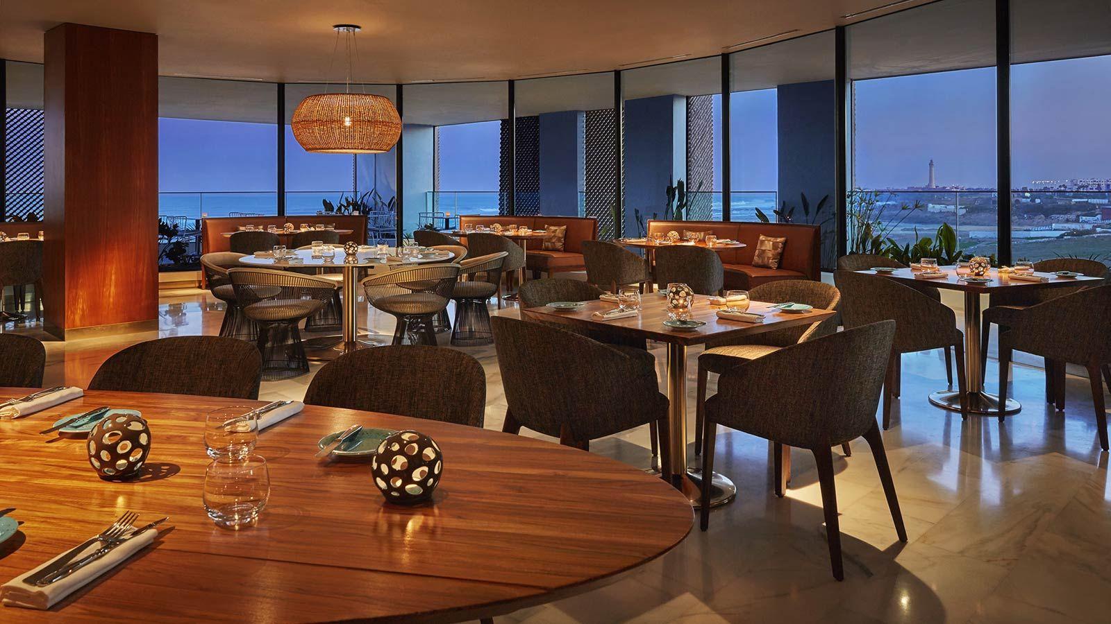 Casablanca Four Seasons Hotel, Modern Sea View Restaurant - Mace Group