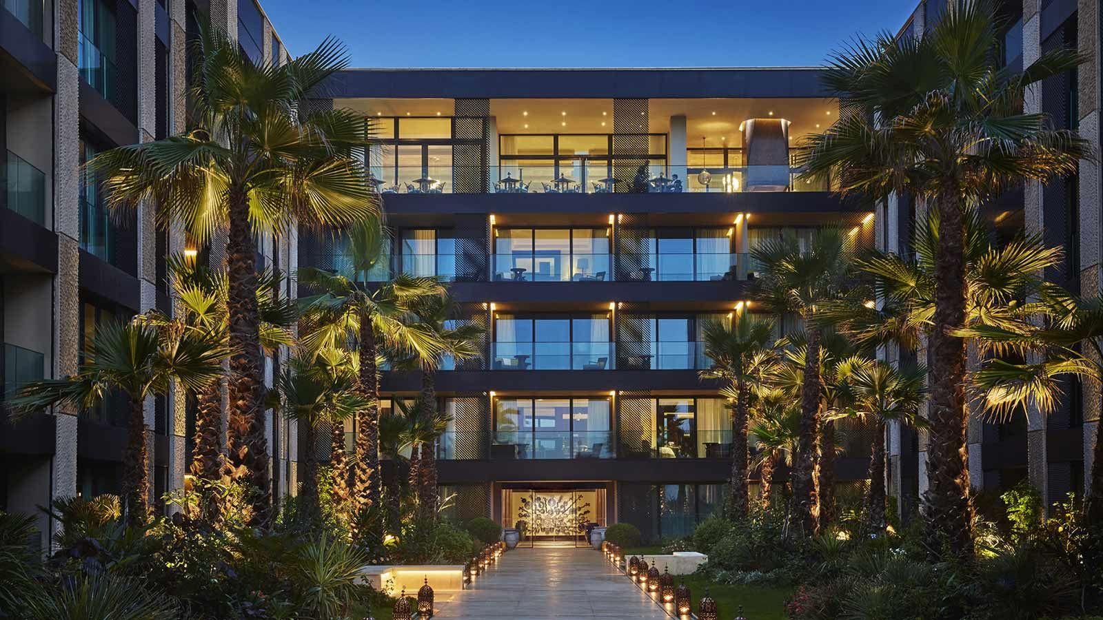 Casablanca Four Seasons Hotel, Building Exterior - Mace Group