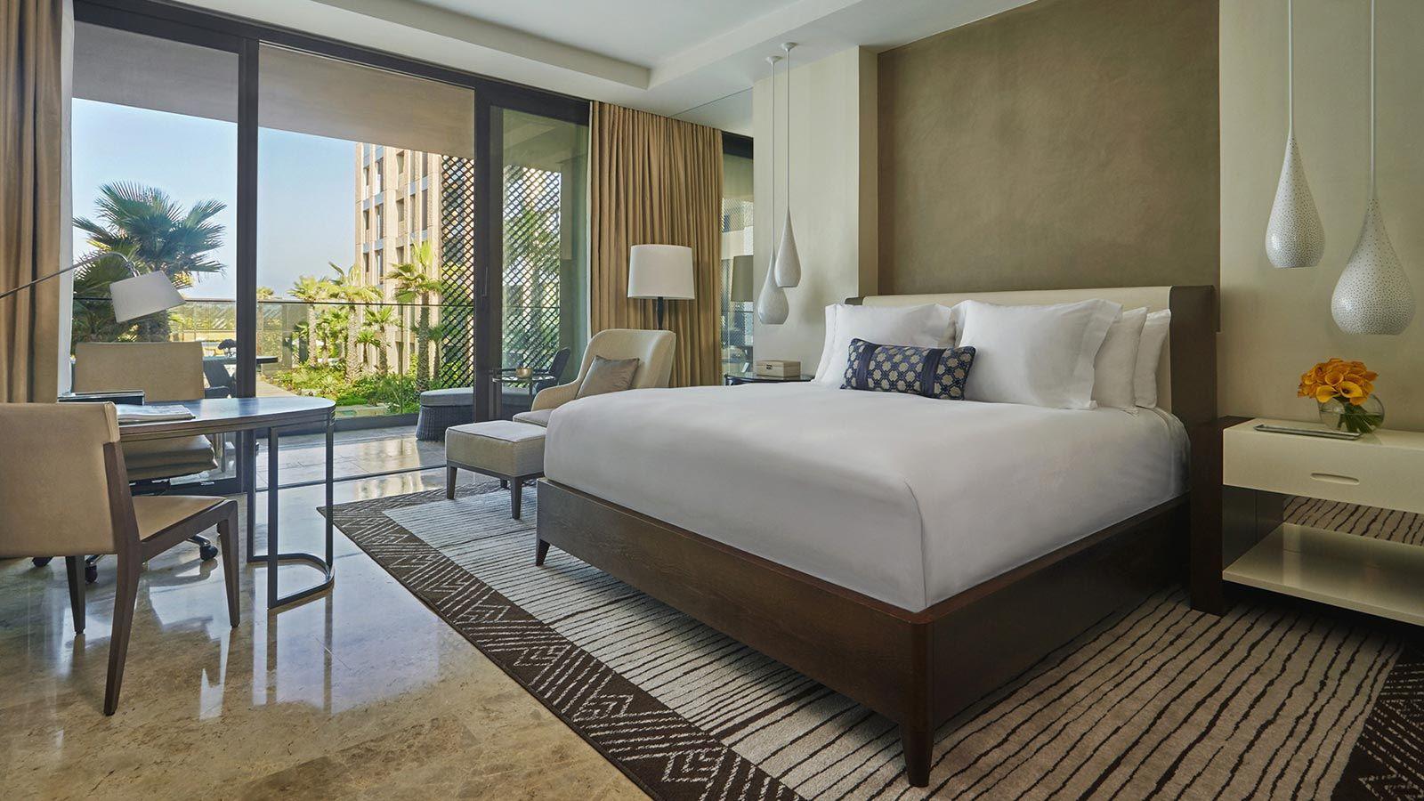 Casablanca Four Seasons Hotel, Modern Bedroom - Mace Group