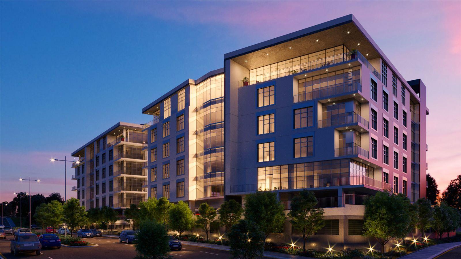Garden City Block B Building Exterior - Mace Group