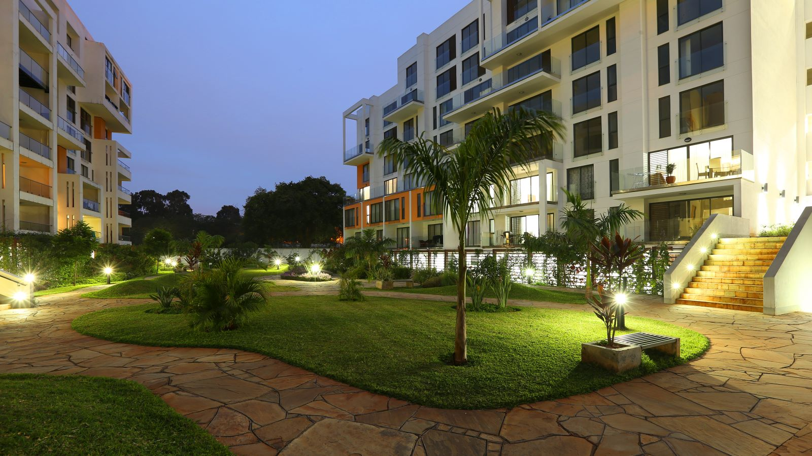 Garden City Building, Garden Area - Mace Group