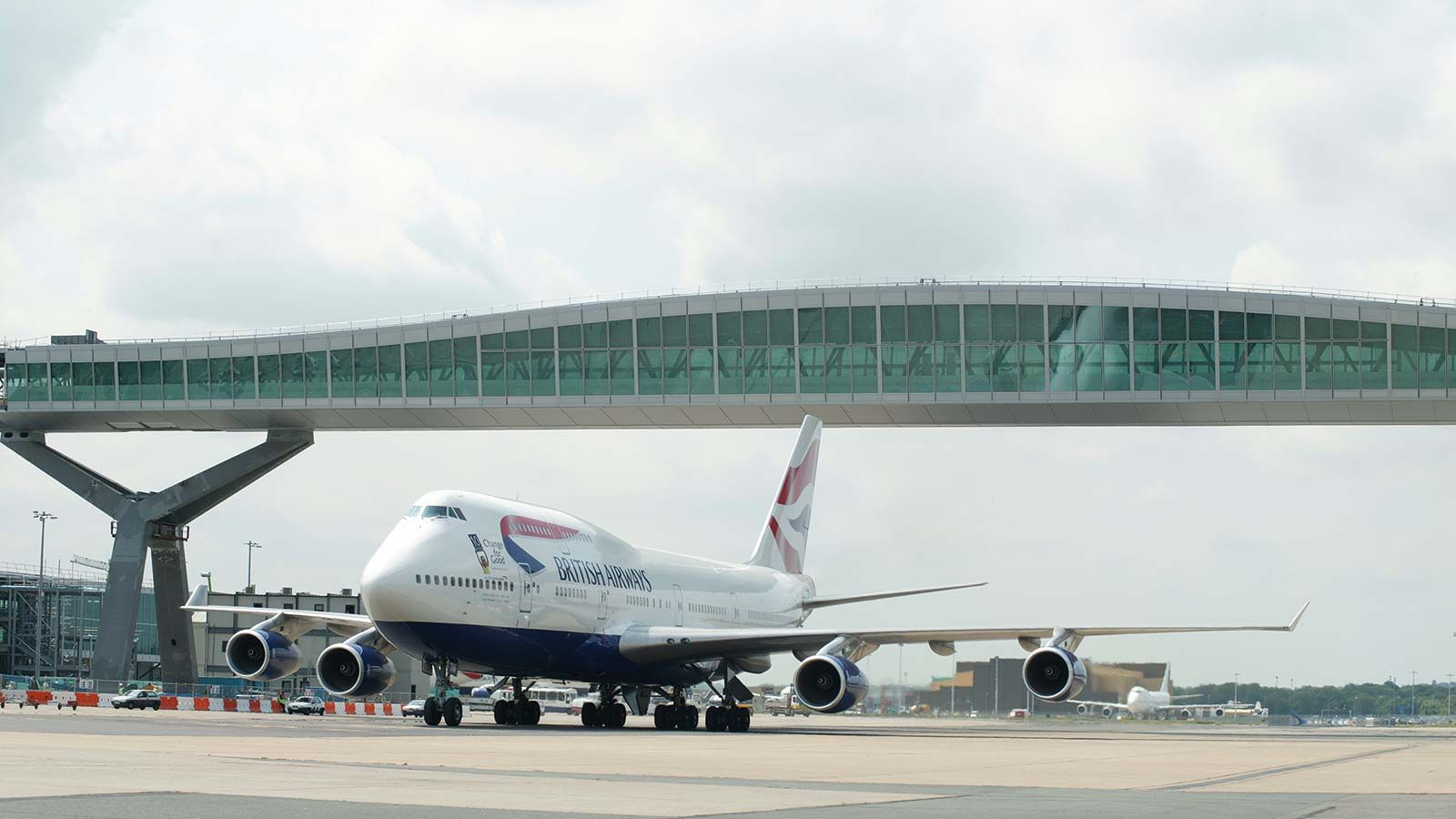 Gatwick Bridge, British Airways Plane - Mace Group