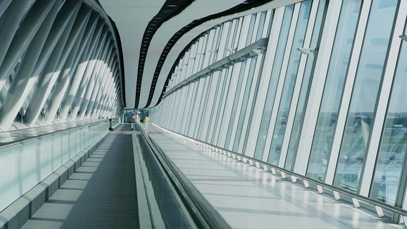 Inside Gatwick Airport Bridge - Mace Group