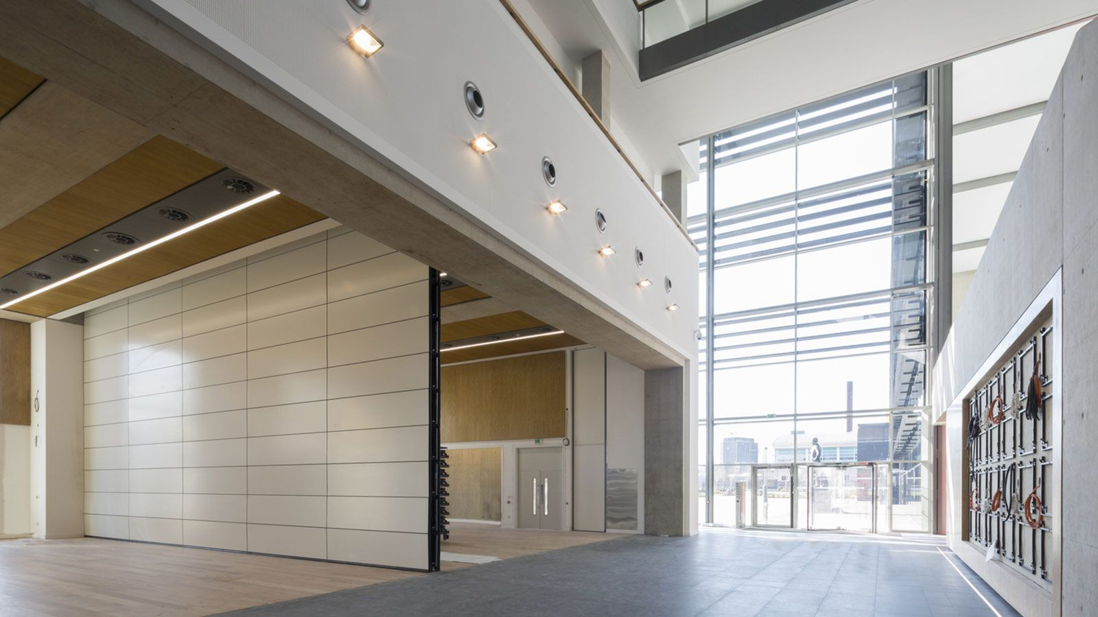 Hendon's MPS Training and Operational Centre Reception Area - Mace Group