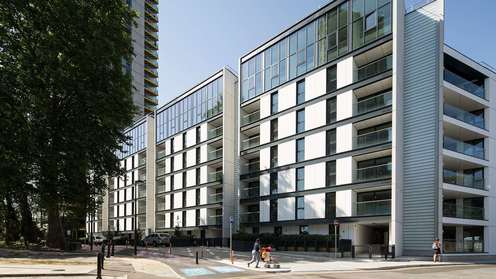 Street view of Highpoint apartments - Mace Group