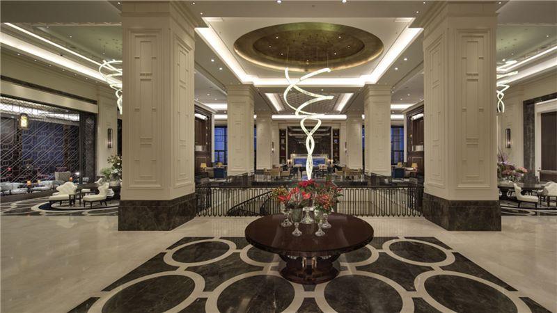 Hilton Hotel's Reception Area - Mace Group