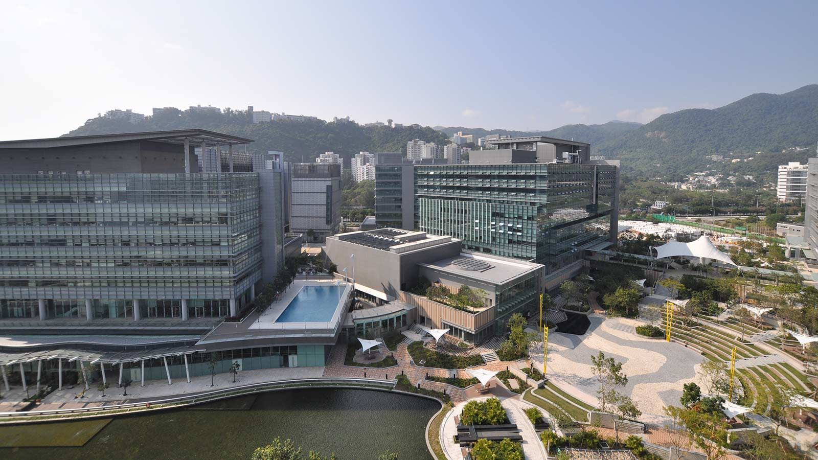 External View of Hong Kong Science Park - Mace Group