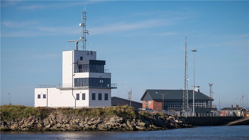 Waterfront view of the Humber Marine Control Centre - Mace Group