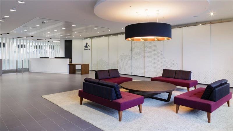 Velvet Office Furniture, Invesco Partnership Building - Mace Group