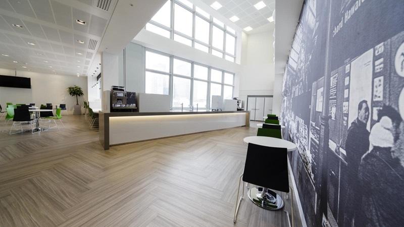 Reception Lobby Area, Invesco Partnership - Mace Group