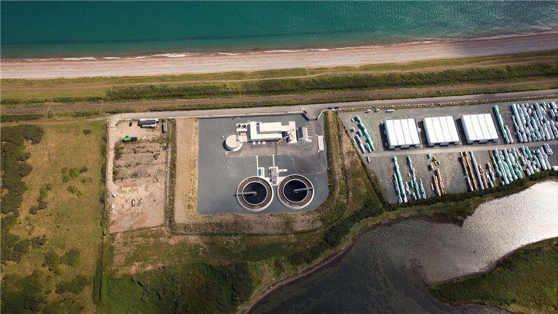 Aerial View of Irish Water - Mace Group