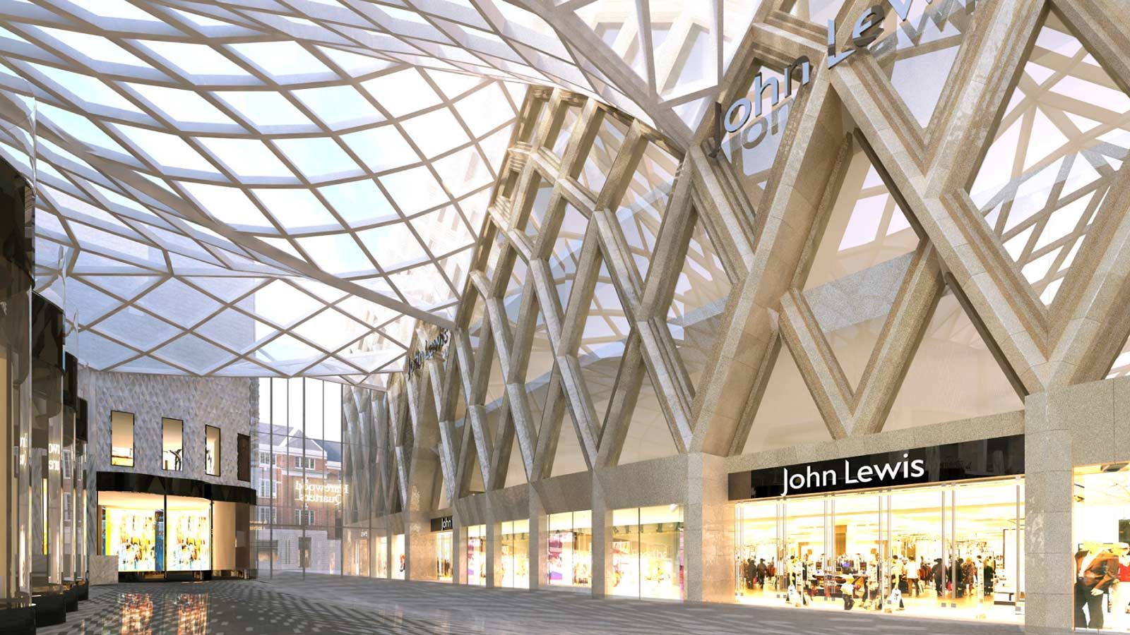John Lewis Store Front - Mace Group
