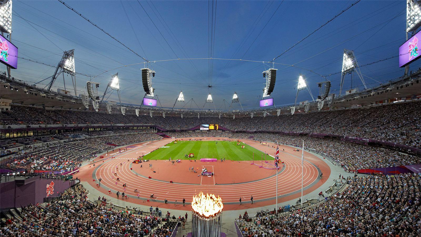 Inside London 2012 Olympics Stadium - Mace Group