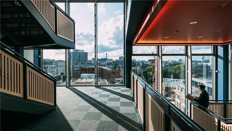 LSE London School of Economics Interior - Mace Group